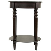 DÉCOR THERAPY OVAL END TABLE