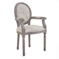 MODWAY UPHOLSTERED BEIGE DINING CHAIR