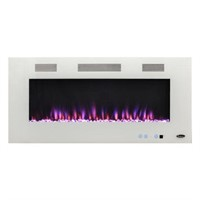 """50"""" FRONT VENTING WHITE WALL MOUNTING ELECTRIC"""
