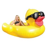 GIANT INFALATABLE DUCK WITH SHADES