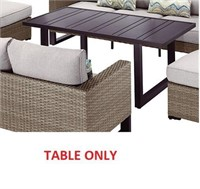HAMPTON BAY DINING TABLE (TABLE ONLY)