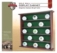 GOLF BALL DISPLAY PLAY CABINET CLUBHOUSE