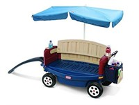 LITTLE TIKES DELUXE RIDE & RELAX WAGON WITH