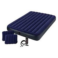 INTEX CLASSIC DOWNY SET AIRBED - QUEEN SIZE