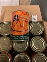 CLUBSUPREME DICED CARROTS 24 CANS