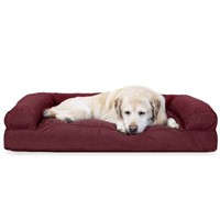 FURHAVEN PET DOG QUILTED PILLOW CUSION - JUMBO