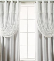 CRENSHAW SOLID BLACKOUT THERMAL GROMMET CURTAIN