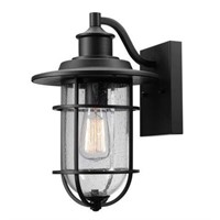 GLOBE ELECTRIC TURNER 1 LIGHT OUTDOOR WALL SCONCE