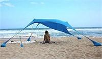 AMMSUN BEACH TENT 7' PORTABLE CANOPY