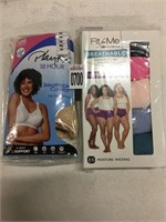 ASSORTED WOMEN'S UNDERWEAR SIZE 11, 44D