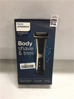 PHILIPS BODY SHAVE AND TRIM