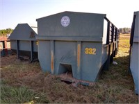 Rhino 30 Cubic Yard Roll Off Container #332 ($500 Reserve)