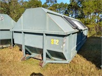 Galbreath 30 Cubic Yard Roll Off Container #321 ($500 Reserve)