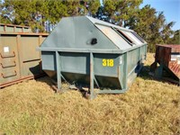 Galbreath 30 Cubic Yard Roll Off Container #318 ($500 Reserve)