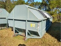 Galbreath 30 Cubic Yard Roll Off Container #312 ($500 Reserve)