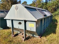 Galbreath 30 Cubic Yard Roll Off Container #329 ($500 Reserve)