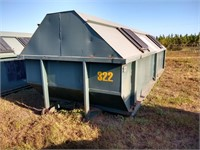 Galbreath 30 Cubic Yard Roll Off Container #322 ($500 Reserve)