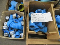 Lot of Assorted Plastic Water Connections