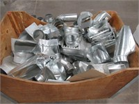 Lot of Assorted Ductwork Pieces