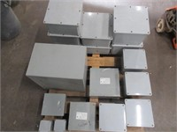 Lot of New Asst. Junction Boxes