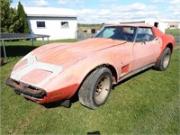 1974 Chevrolet Corvette 350 Turbo Fire V8