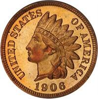 1C 1906 PCGS PR65 RD CAC