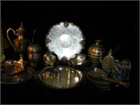 Glassware, Furniture,Collectables,Ships Oct. on-line Auction