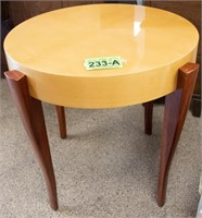 Furniture Contemporary Lacquered Occasional Table