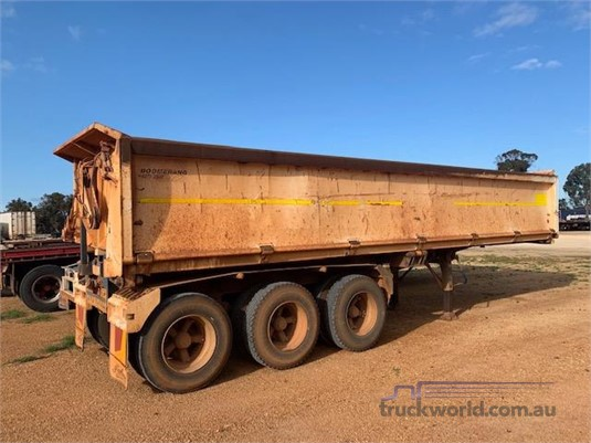 2008 Boomerang Side Tipper Trailer - Trailers for Sale