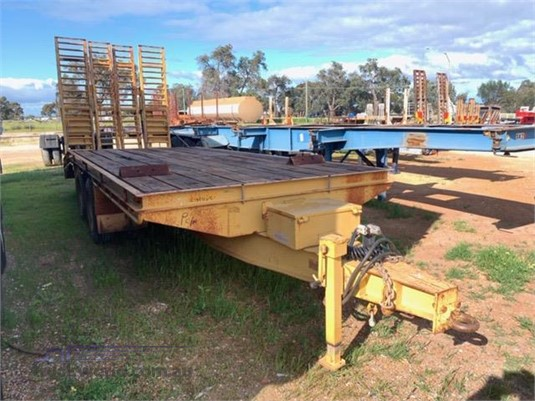 2003 Custom Built Plant Trailer With Ramps - Trailers for Sale
