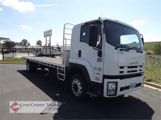 2010 Isuzu FTR900 Cross Country Trucks Pty Ltd  - Trucks for Sale