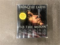 Sealed VHS From the Earth to the Moon Apollo Mini
