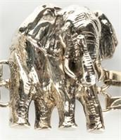Jewelry Sterling Silver Animal Link Bracelet