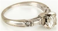 Jewelry Platinum 1+ Carat Diamond Wedding Ring