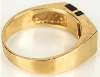 Jewelry 14kt Yellow Gold Men's Wedding Ring