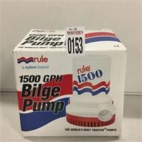 RULE 1500 GPH BILGE PUMP