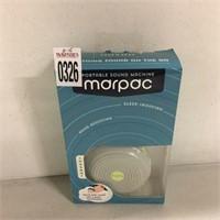 MARPAC PORTABLE SOUND MACHINE