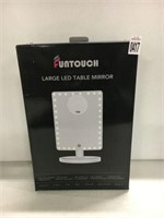 FUNTOUCH LARGE LED TABLE MIRROR
