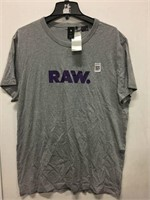 G-STAR RAW MEN'S T-SHIRT SIZE X-LARGE