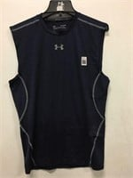 UNDER ARMOUR MEN'S SLEEVELESS SIZE XLARGE