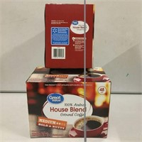 GREAT VALUE HOUSE BLEND COFFEE 96 PODS