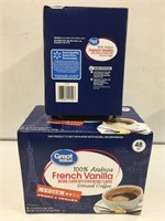 GREAT VALUE VANILLA NATURAL COFFEE 96 PODS