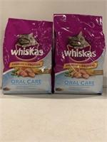 WHISKAS ADULT ORAL CARE CAT FOOD 3KG