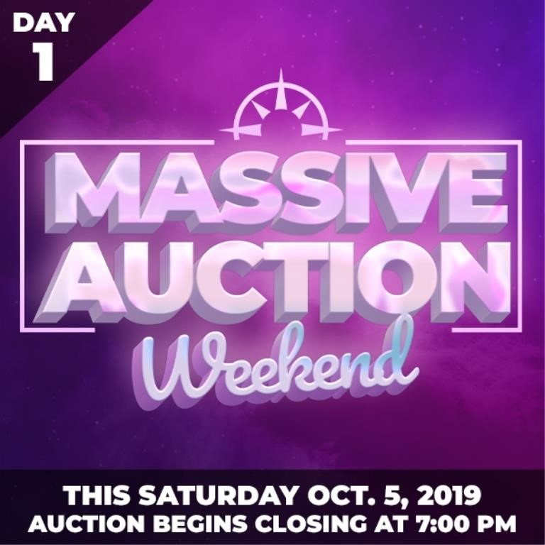 1000 Lots Massive Auction Weekend Day 1 Sat Oct 5 2019