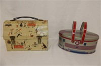 Hump Top & Oval Lunch Buckets