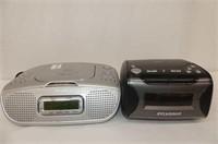 Nexxtech CD Alarm Clock Radio