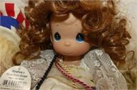 7 Dolls-Precious Moments - 2001 Stocking Doll