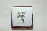 Sterling Silver 'Angel' Brooch