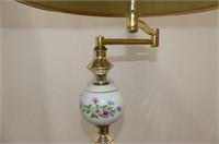 Brass Floor Lamp, Amish Plaque, Cinema & Paris Pla