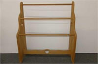 Wooden Rack - Quilt/Towels